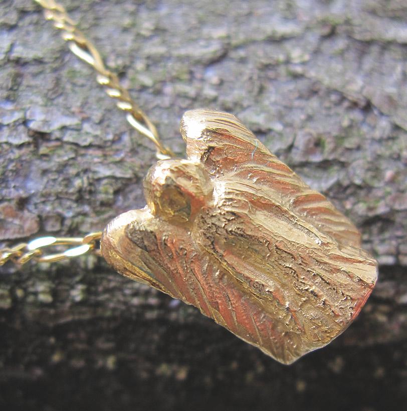 Schutzengel Gold 750